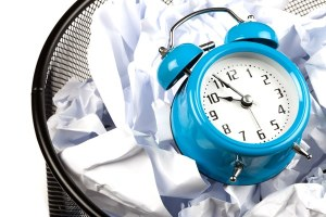 Tick tock. Are you getting younger? Make your days count! Photo credit: timemanagementninja.com